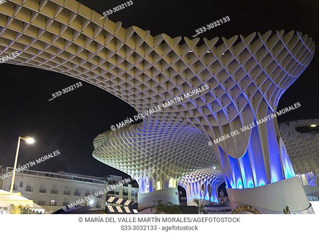 Metropol Parasol in Sevilla Andalucia. Spain