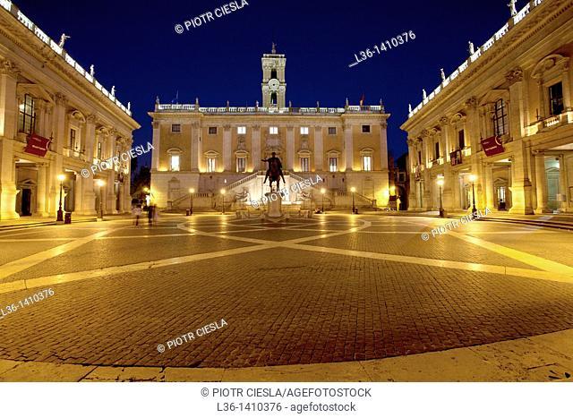 Rome  Piazza Campidoglio