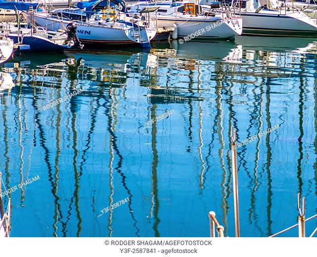 Yacht basin, Cape Town, South Africa