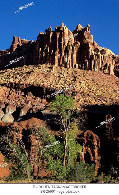 USA, United States of America, Utah: Capitol Reef National Park, The Castle