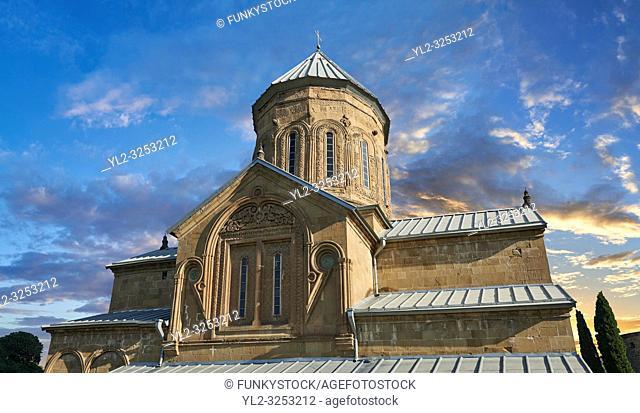 Pictures & images of the Eastern Orthodox Georgian Samtavro Transfiguration Church and Nunnery of St. Nino in Mtskheta, Georgia