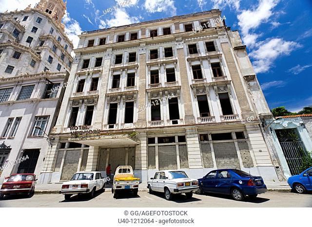 Cuba, Havana Vieja, Hotel New York