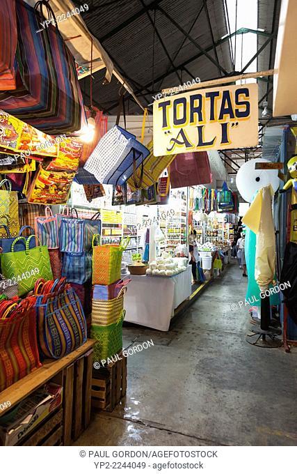 Mercado Benito Juárez in the Centro Historico - Oaxaca de Juárez, Centro District, Valles Centrales, Oaxaca, Mexico