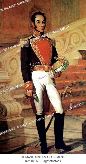 Simón Bolívar 1783 – 1830 Venezuelan political leader. Together with José de San Martín, he played a key role in Latin America's struggle for independence from...