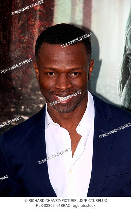 """Sean Patrick Thomas at the Warner Bros. Premiere of """"""""The Curse of La Llorona"""""""". Held at the Egyptian Theater in Hollywood, CA, April 15, 2019"""