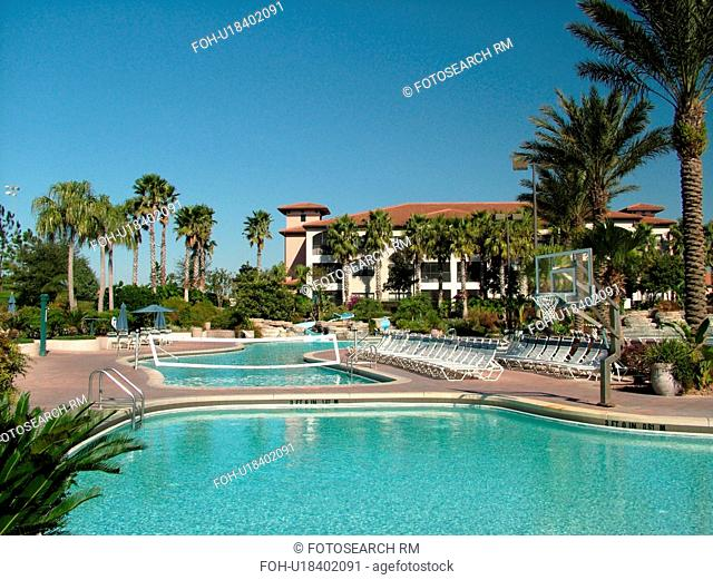 Orlando, FL, Florida, Orange Lake Country Club and Resort, swimming pool