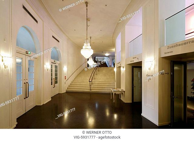 EDITORIAL USE ONLY, D-Mainz, Rhine, Rhine-Main district, Rhineland, Rhineland-Palatinate, Staatstheater Mainz, Mainz State Theatre, playhouse, music theatre