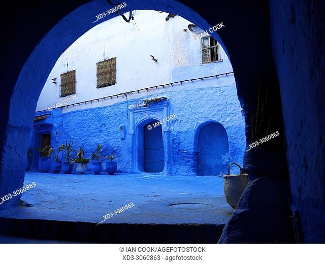blue medina, Chefchaouen, Morocco