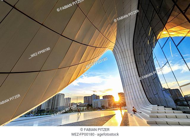 Azerbaijan, Baku, Heydar Aliyev Center