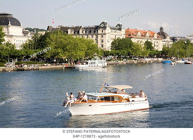 Lake Zurich, Zurich, Switzerland