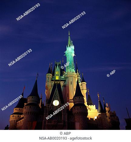 Castle, Disneyworld, Orlando, Florida, USA
