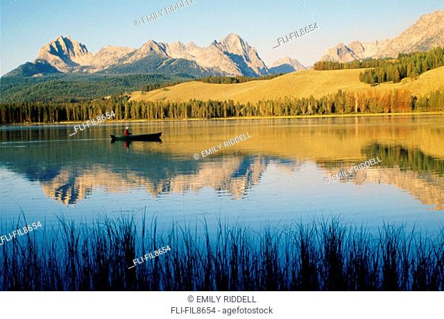 Little Red Fish Lake, Stanley, Idaho