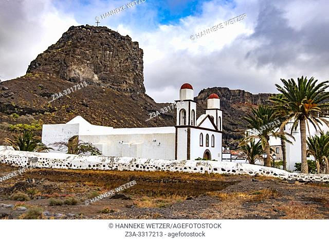 Parish church was builit in 1874,Agaete, Gran Canaria, Spain