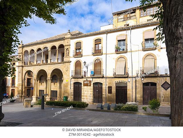 Antiguas Casas Consistoriales. Úbeda. Jaén. Andalusia. Spain