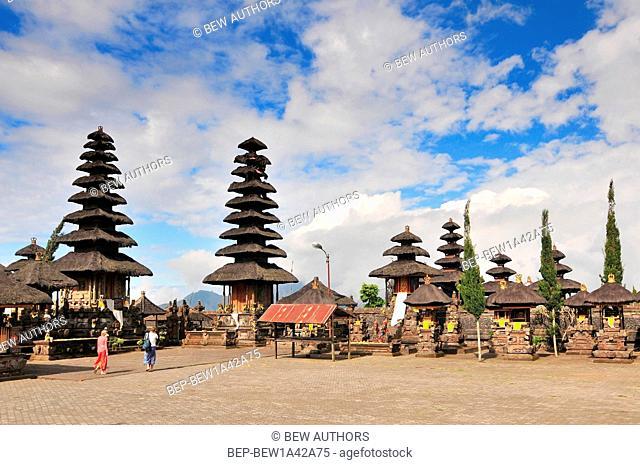 Pura Ulun Danu Batur (also known as Pura Ulun Danu, Pura Batur is the second most important temple in Bali, Indonesia