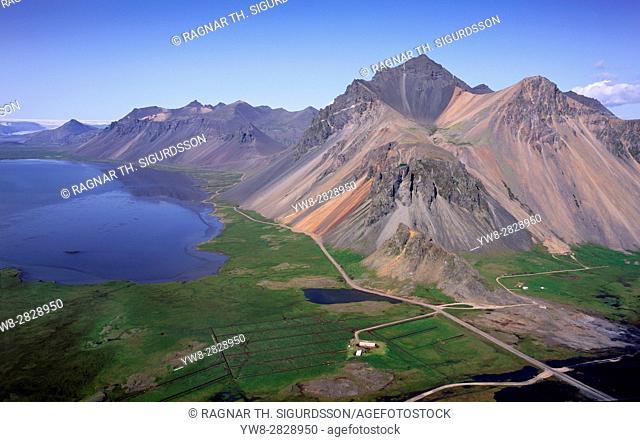 Mountainsides- Mt. Austurhorn, Mt. Eystrahorn, Eastern Iceland