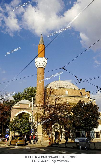Sofia, Banja-Baschi mosque, Bulgaria