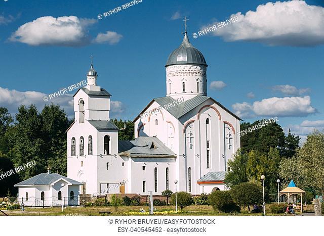 St. Alexander Nevsky Church in Gomel, Belarus. Orthodox Church