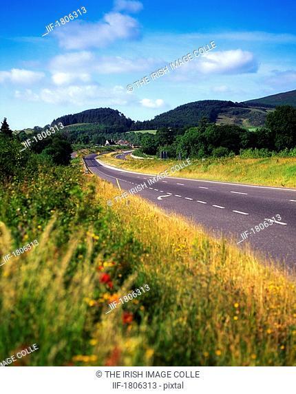 Roads near Newcastle, Co Wicklow, Ireland