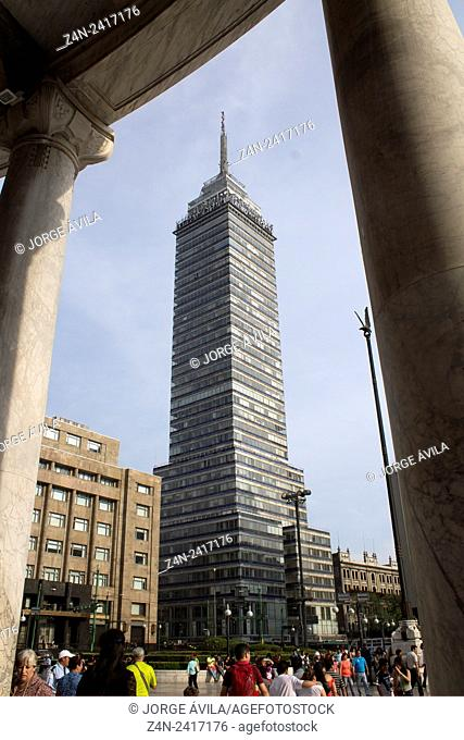 Latinoamericana tower, Mexico City, Mexico