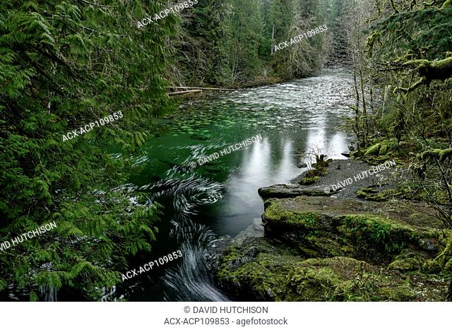 Englishman River Falls Provincial Park, Vancouver Island, BC, Canada