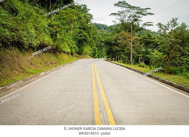 Via Santa Cecilia-Guarato, Choco, Colombia
