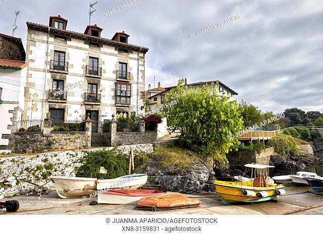 Mundaka, Biosphere Reserve Urdaibai, Biscay, Basque Country, Spain