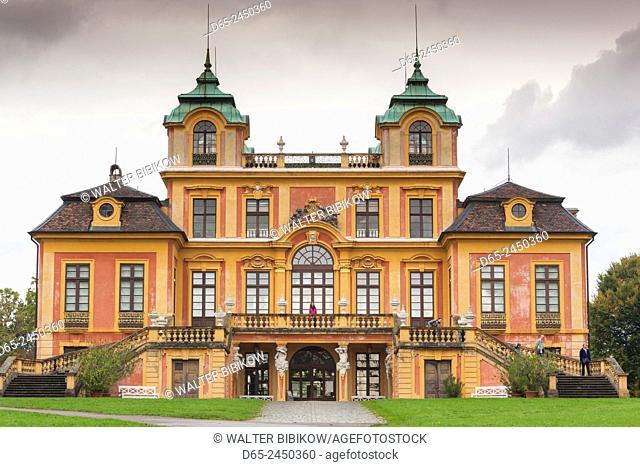 Germany, Baden-Wurttemburg, Ludwigsburg, Schloss Favorite Palace