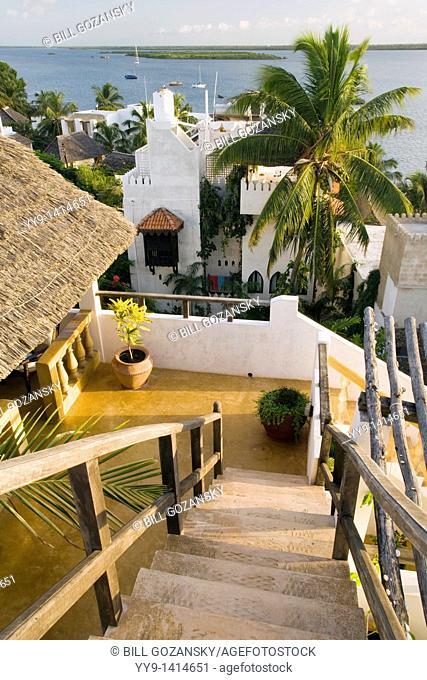 View from Shela Royal House - Shela Village - Lamu Island, Kenya