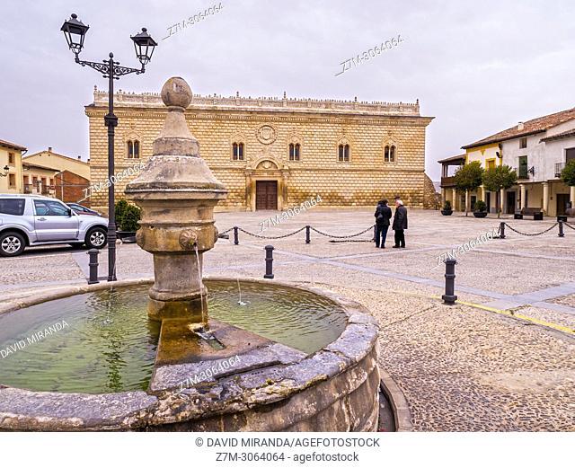 Palacio de los Duques de Medinaceli. Cogolludo. Guadalajara. Spain