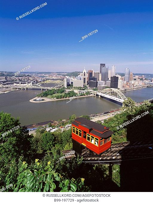 Duquesne Incline. Pittsburgh. Pennsylvania. USA