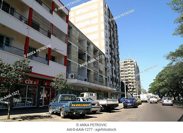 Town scene, Maputo, Mozambique