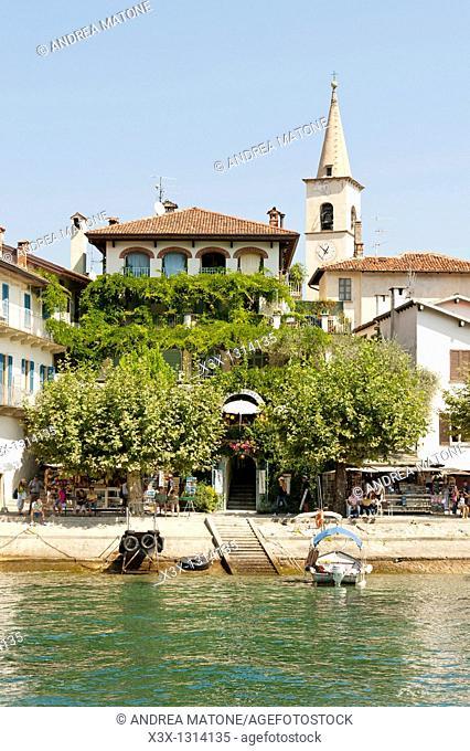 Isola dei Pescatori Lago Maggiore Italy