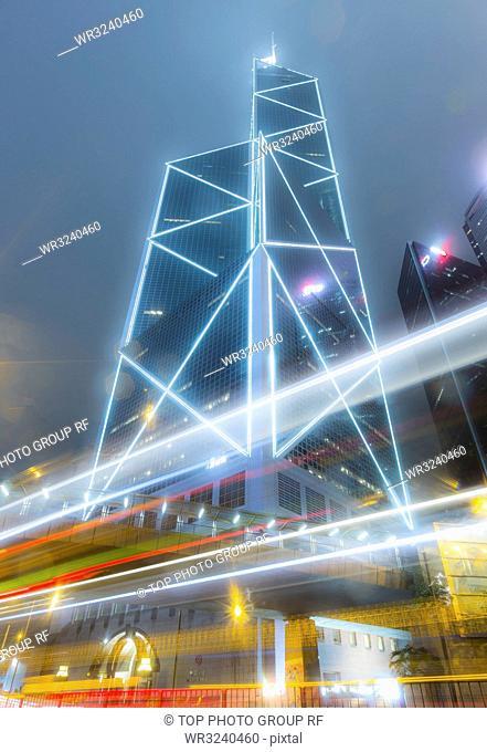 BOC Tower; Hong Kong;China
