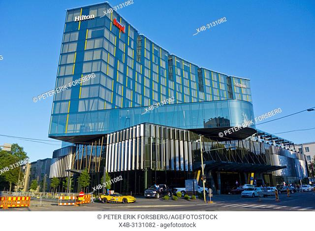 Hotel Hilton, with Olympic Casino, Tallinn, Estonia