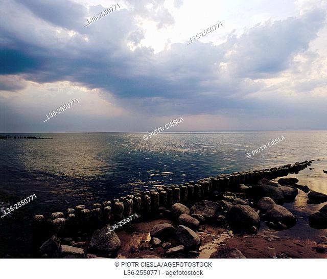 Baltic Sea. Poland