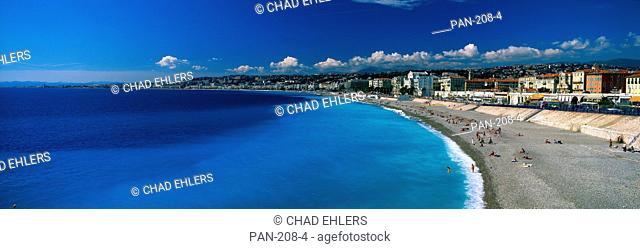 Mediterranean Sea, French Riviera, Nice, France