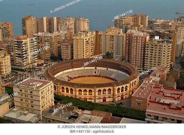 Plaza de toros bullring, La Malagueta district, Malaga, Costa del Sol, Andalusia, Spain, Europe