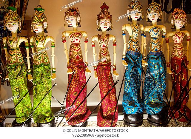 Traditional puppet dolls, Bali, Indonesia
