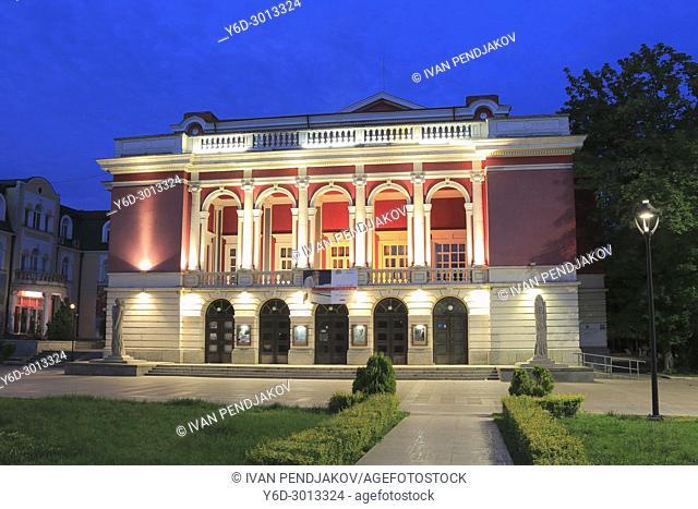 Ruse Opera House at Dusk, Bulgaria
