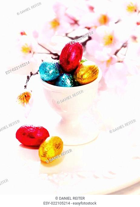 Tiny Chocolate Easter Eggs