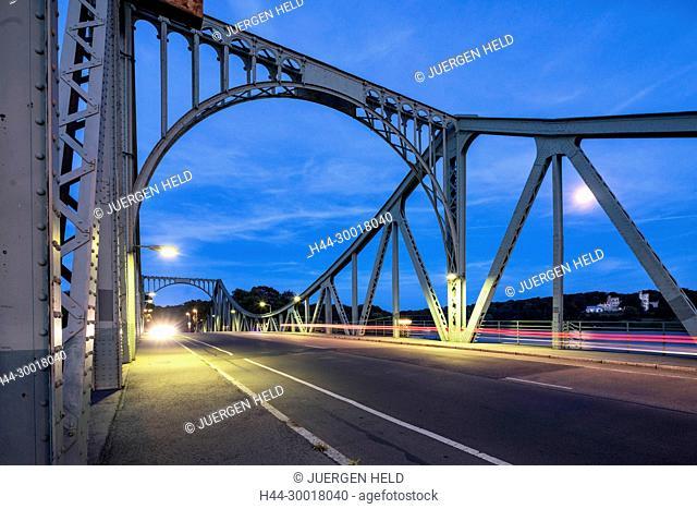 Germany, Brandenburg, Potsdam, Babelsberg Park, Babelsberg Castlel, Havel river, Little Castle, UNESCO