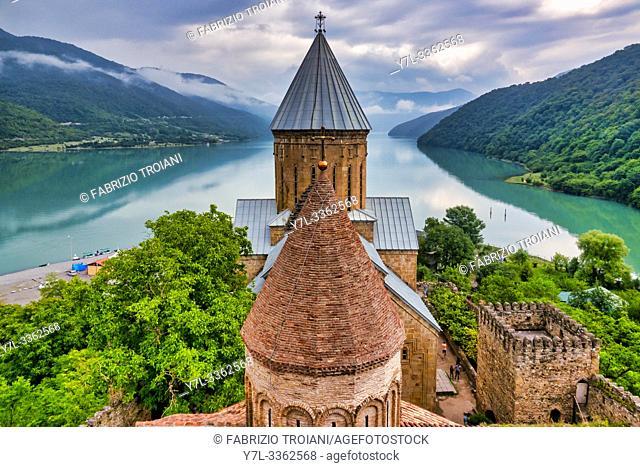 Ananuri castle complex, Ananuri, Georgia
