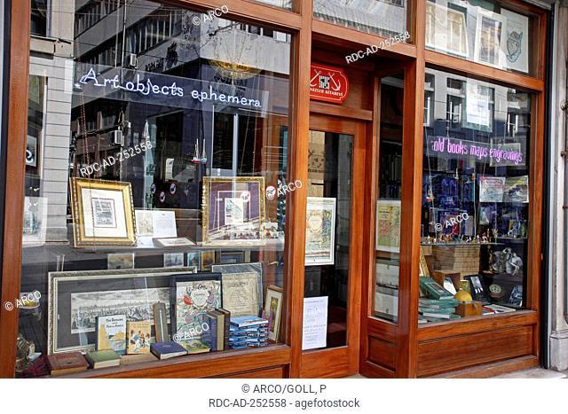 Book shop Istiklal Caddesi street Beyoglu Istanbul Turkey
