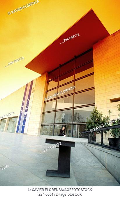 IVAM ('Valencian Institution of Modern Art'). Architects: Emilio Giménez and  Carlos Salvadores. Valencia. Spain