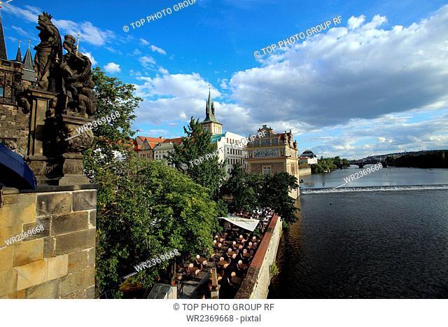 Europe Czech Republic Prague Prague Charles Bridge