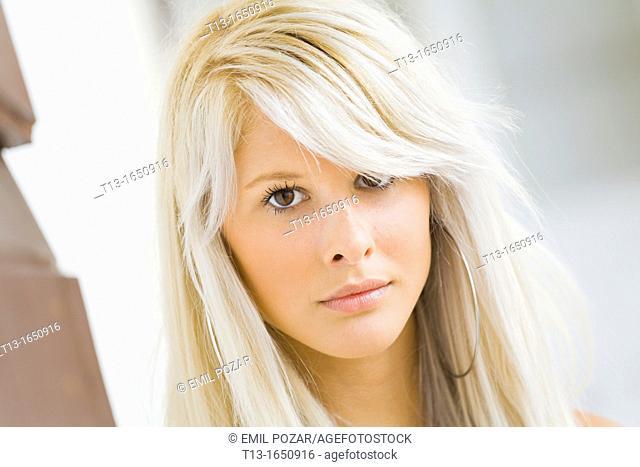 Female teenager portrait