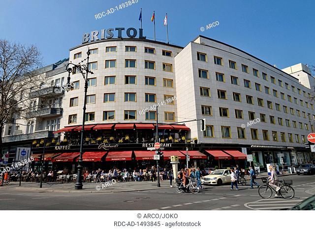 Cafe Reinhard's, Hotel Bristol, Kurfuerstendamm, Charlottenburg, Berlin, Deutschland