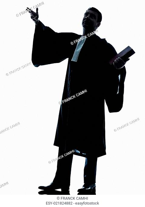 lawyer man pleading