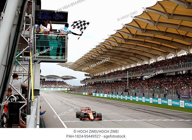 Motorsports: FIA Formula One World Championship 2017, Grand Prix of Malaysia, #2 Stoffel Vandoorne (BEL, McLaren Honda),   Verwendung weltweit
